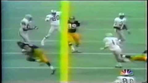 Immaculate Reception in Slow Motion