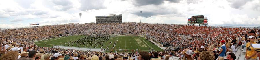 Bright House Stadium opening panorama