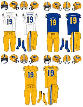 NCAA-ACC-Pitt Panthers football jerseys