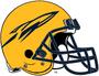 NCAA-MAC-Toledo Rockets-Gold Helmet