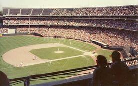 Oakland Coliseum 1980