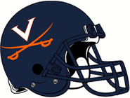 NCAA-ACC-1994-2000 Virginia Cavs helmet