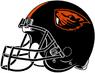NCAA-PAC12-Oregon State Beavers helmet-black-right side