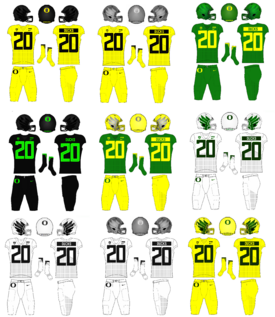 NCAA-Pac-12-Oregon Ducks Uniforms