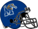 NCAA-USA-Memphis Tigers helmet