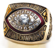 Super Bowl 17 Ring