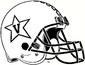NCAA-ACC-Vanderbilt Commodores All White Anchor Down helmet
