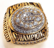 Super Bowl 31 Ring