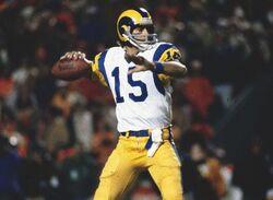 Vince Ferragamo LA Rams-Super Bowl XIV 1980