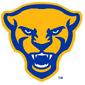 NCAA-ACC-Pitt Panthers white mascot logo