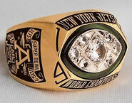 Super Bowl 3 Ring
