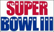 Super Bowl III logo