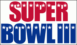 Super Bowl III logo