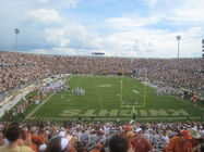Texas at UCF wide view from endzone
