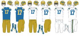 NCAA-PAC-12-UCLA Bruins Uniforms
