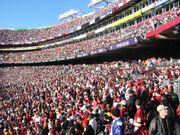 FedExField Redskins fans