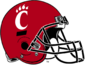 NCAA-AAC-Cincinnati Bearcats Red Helmet