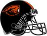 NCAA-PAC12-Oregon State Beavers helmet-black