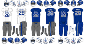 NCAA-MWC-Air Force Falcons Uniforms