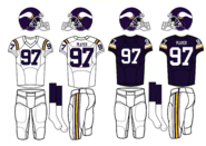 NFL-NFC-1980-84 MIN- Viking Jerseys