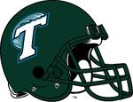 NCAA-AAC-Tulane Green Wave Primary Green helmet