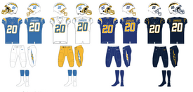 NFL-AFCW-2020 LA Chargers Jerseys