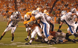 Volunteers on offense at AFA at Tennessee 2006-09-09