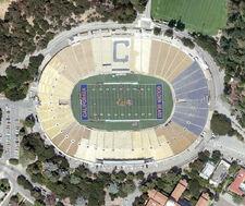 California Memorial Stadium aerial