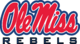 Ole Miss Rebels Alternate Logo-Yale Blue
