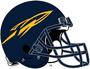 NCAA-MAC-Toledo Rockets-Blue Helmet