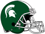 NCAA-MSU Spartans Helmet
