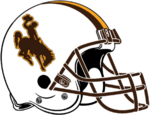 NCAA-MW-Wyoming Cowboys White Helmet