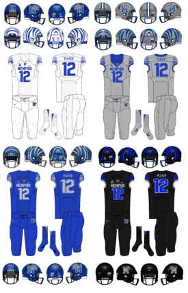 NCAA-Memphis Tigers 2019 jerseys