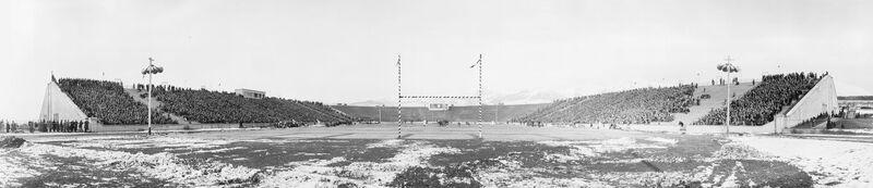 Ute Stadium Panorama UofU 1929