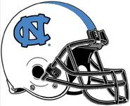 NCAA-ACC-UNC Tar Heels-White helmet-758px