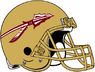 NCAA-ACC-Florida State Seminoles Gold helmet & facemask