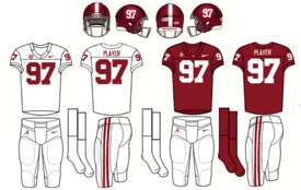 NCAA-SEC-Alabama Crimson Tide Uniforms