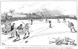 Yale-Princeton May 30 1882