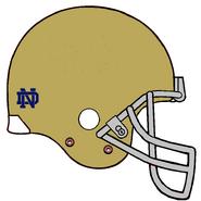 NCAA-Notre Dame-Helmet