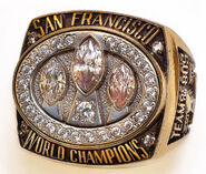 Super Bowl 23 Ring