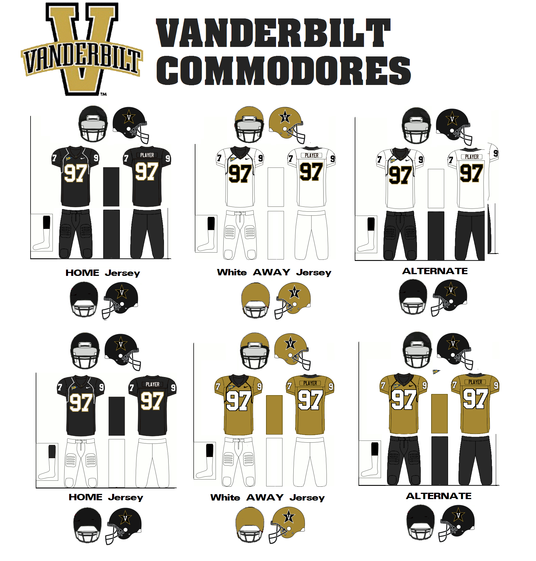 13fcbdfd7a4 Vanderbilt Commodores | American Football Wiki | FANDOM powered by Wikia