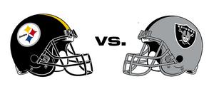 NFL-AFC-Helmets-OAK vs PIT