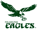 Philadelphia Eagles Logo 1970-1973
