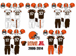 2006-2014 Cleveland Browns Jerseys