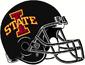 NCAA-Big 12-Iowa Cyclones Black Helmet