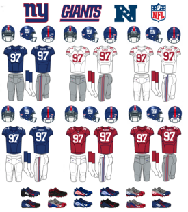 NFL-NFCE-NY Giants Jerseys