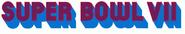 Super Bowl VII Logo