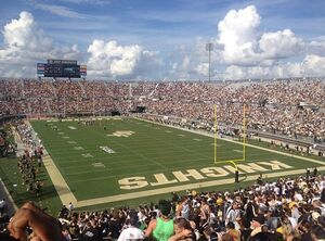 Bright House Networks Stadium from Student Section, Sept. 15