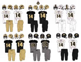 NCAA-Big 10-Purdue Boilermakers Uniforms