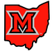 NCAA-MAC-Miami Redhawks state of OH logo